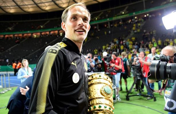 Dortmunds-head-coach-Thomas-Tuchel-cele